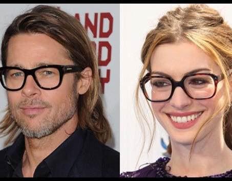 Óculos de grau também está na moda...
