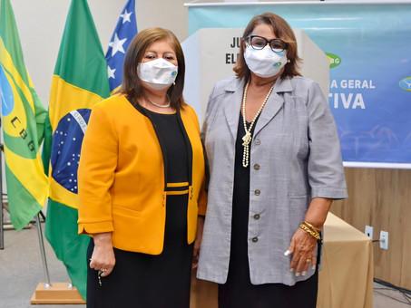 Sergipana é reeleita de forma consagradora para o comando da Confederação Brasileira de Ginástica