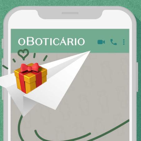 No Boticário, milhares de consultores ajudam na compra do presente de Natal via WhatsApp