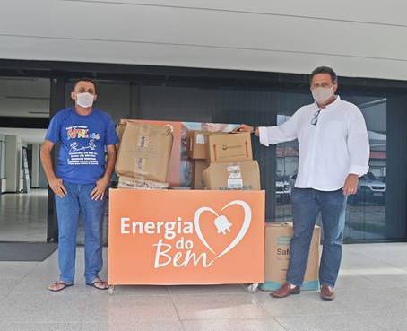 """Creche Almir do Picolé recebe doação do Movimento """"Energia do Bem"""""""