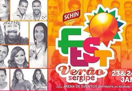 No fim de semana tem Fest Verão Sergipe