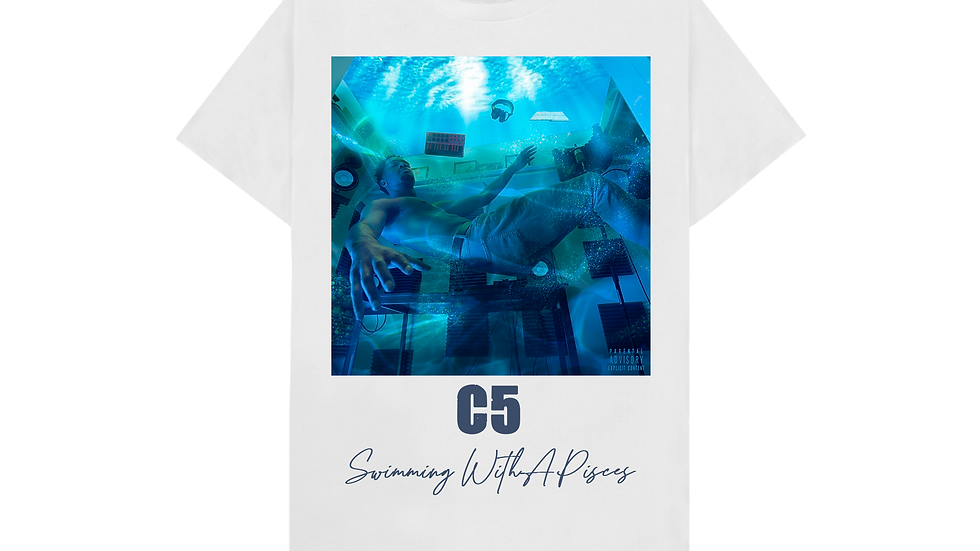Swimming With A Pisces Shirt