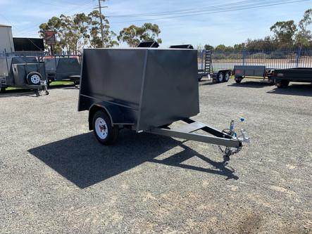 6'x 4'x 4' Single axle furniture trailer