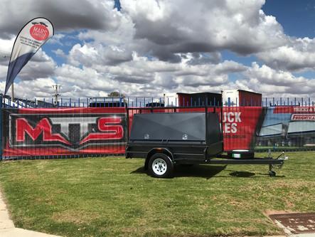 7'x 5' tradesman top trailer