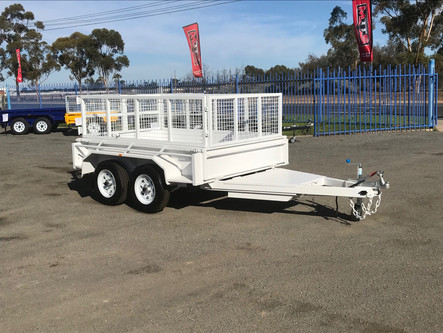 8'x 5' tandem axle box trailer