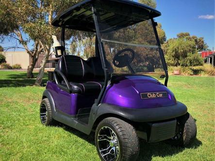 Club Car Precedent MTTS Custom 2017 Golf Cart - 48V