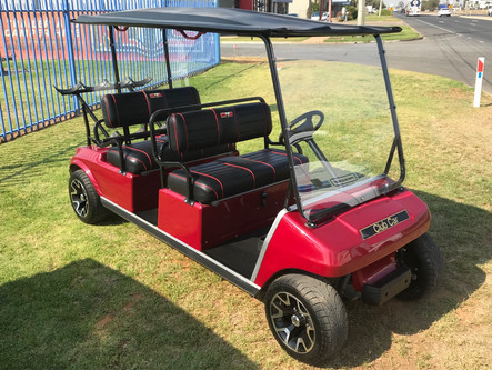 Club Car Golf Cart Petrol Powered Engine DC Limo 4 Seater