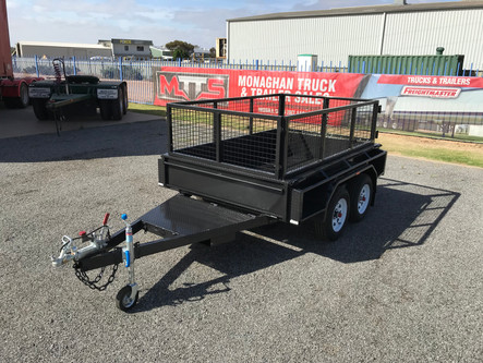 8'x 5' tandem with cage