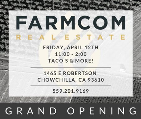 Farmcom Real Estate Grand Opening - Friday, April 12th!