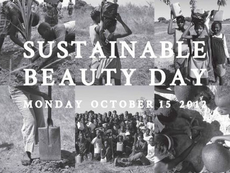 Get a Haircut, Plant a Tree? October 15th is Sustainable Beauty Day