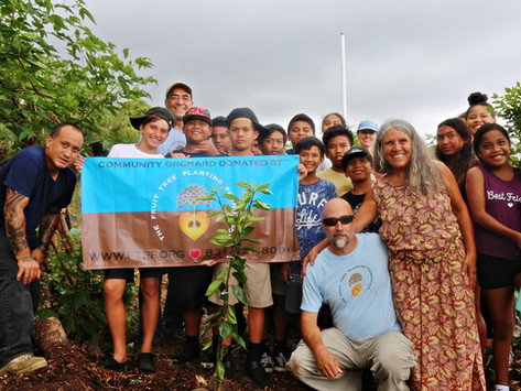 Foundation Launches Orchard Classrooms for Big Island Students