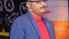 Vidyadhar Prabhudesai as World Literacy Foundation Ambassador