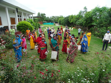 Project Sanjivani: SSK extends COVID-19 relief to 1000 families in Jharkhand