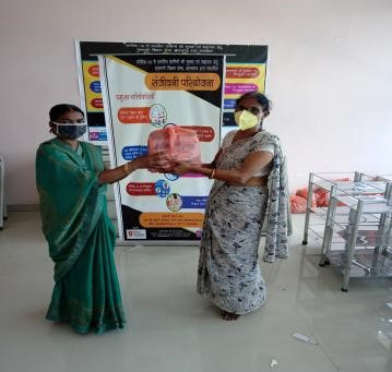 COVID safety kit distributed to frontline health workers in Japla