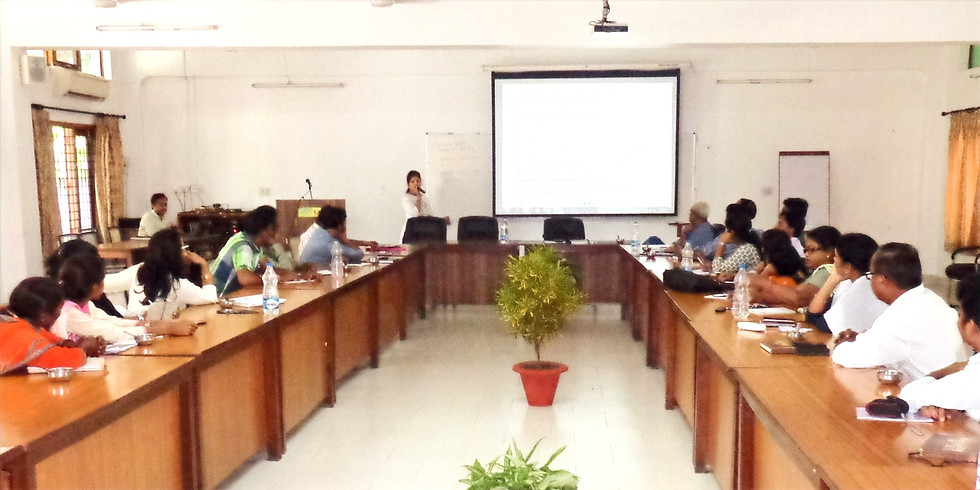 5 Days residential Training on ensuring water security at community level