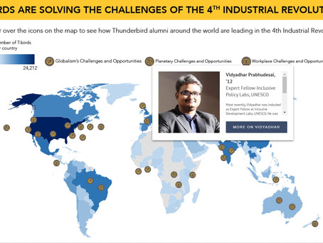 Thunderbirds Leading in the 4th Industrial Revolution