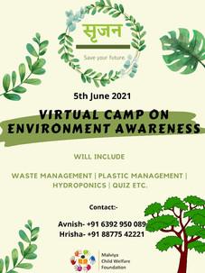"""Srijan""Environment Awareness Camp"