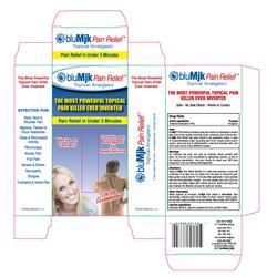bluMjk Pain Relief Box