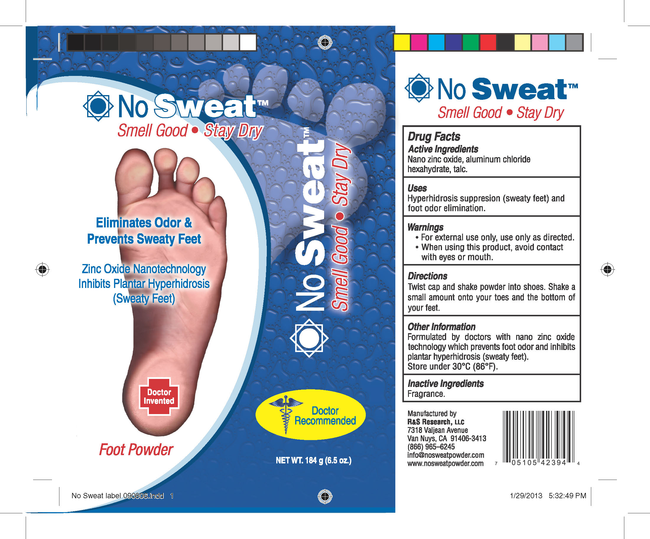No Sweat Label