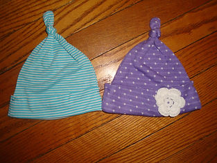 Stitched Simply Sweet Topknot Hats