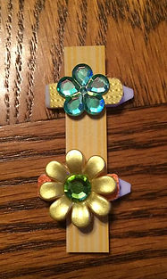 Stitched Simply Sweet Barrettes