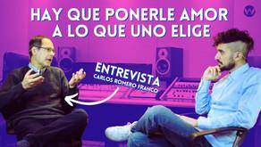 Doblaje y actuación de voz: entrevistamos a Carlos Romero Franco