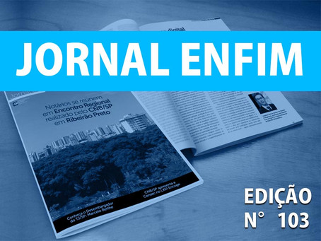 Leia o Jornal Enfim: Edição Nº 103