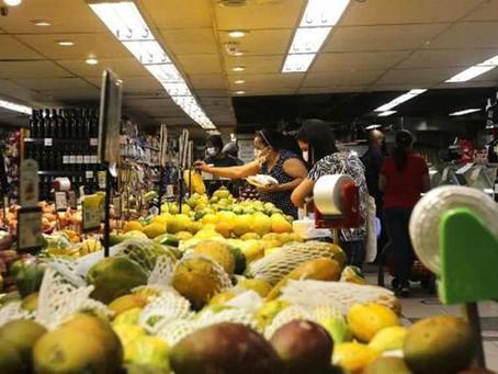 Prévia da inflação oficial emnovembro fica em 0,81%, diz IBGE