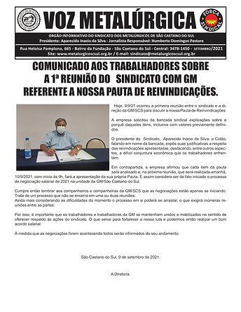 SEGUNDO INFORMATIVO SOBRE A REUNIAO DA CAMPANHA SALARIAL MONTADORA GM 2021 09.09.2021-1.jp