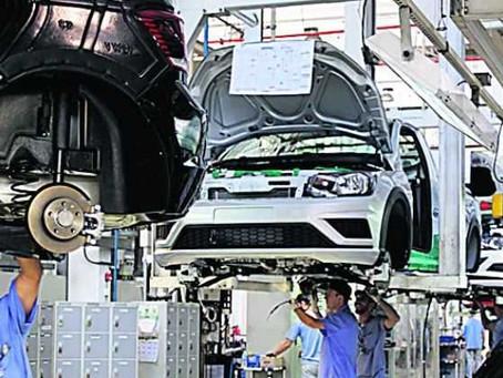 Volkswagen comunica férias coletivas para linha de montagem