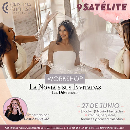 Workshop la Novia y sus Invitadas - Presencial/ Online