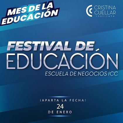 Festival de la educación - Cristina Cuéllar