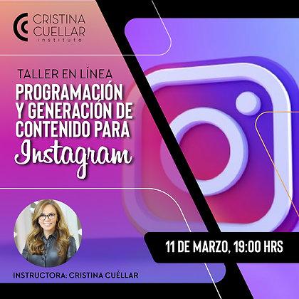 Programación y generación de contenido para Instagram