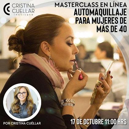 Automaquillaje para mujeres de más de 40 - Masterclass