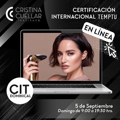 Certificación Internacional TEMPTU
