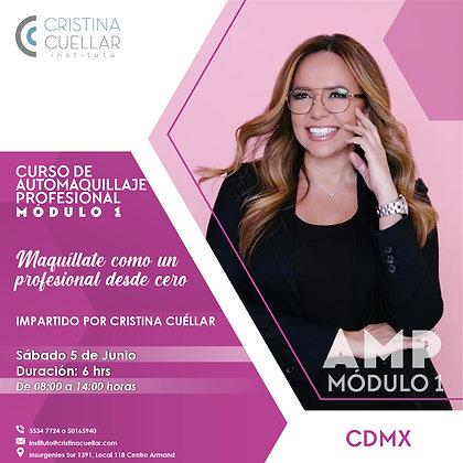 Automaquillaje profesional con Cristina Cuéllar