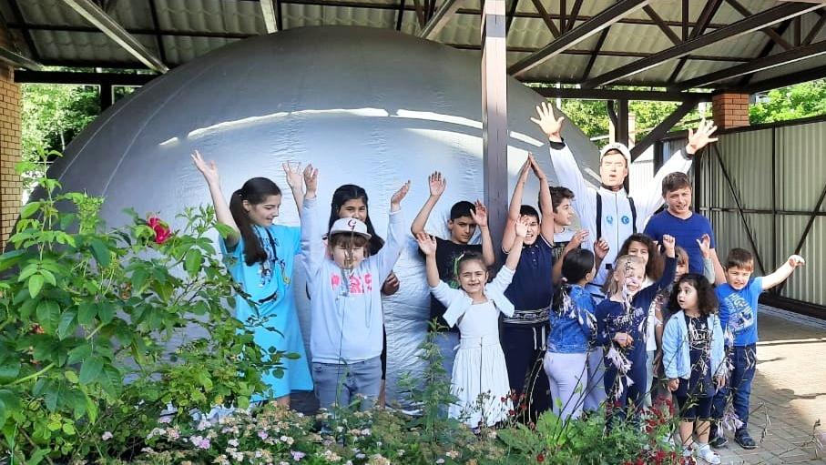 Детские дни рождения с мобильным планетарием