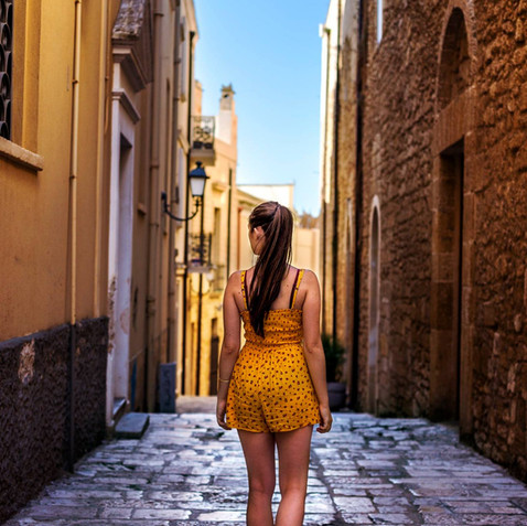 Brindisi, Italy  Modèle : Marion Elle
