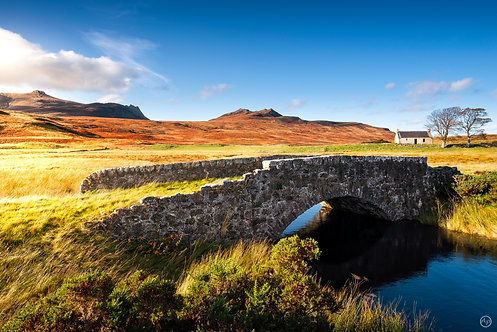Highlands' house, Loch Loyal, Scotland