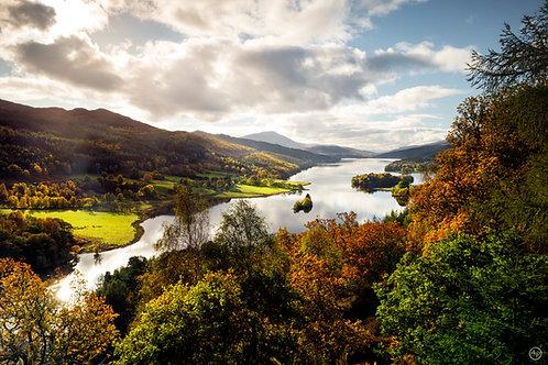 Queen's view, Scotland