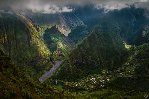 Grand Bassin, île de La Réunion - Tableau