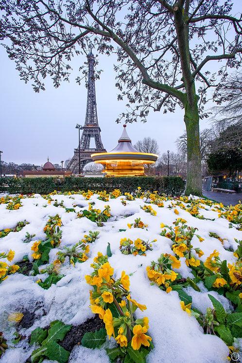 Let it snow, Paris