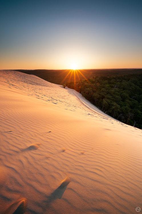 Premières lueurs, Dune du  Pilat