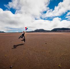 Plaine des Sables, La Réunion  Modèle : Marion Elle