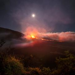 Eruption du Piton de la Fournaise (2018)  Retrouvez cette photo dans le SHOP :