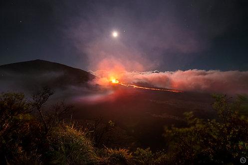 Eruption du Piton de La Fournaise (avril 2018), île de La Réunion
