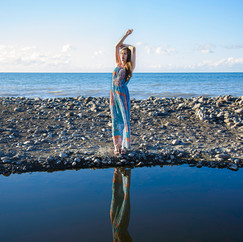 Front de mer Saint-Denis, La Réunion  Modèle : Marion Elle