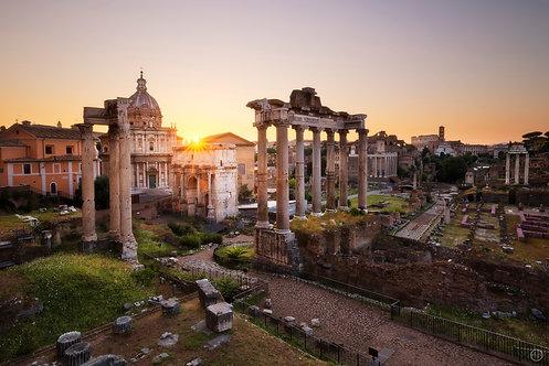 Foro romano, Roma - Tableau