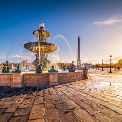 Fontaine dorée, Concorde