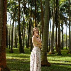Anse des cascades, La Réunion  Modèle : Marion Elle